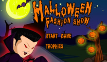 Halloween fashion show