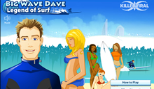 jeu Big Wave Dave Legend of Surf