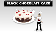 jeu Black Chocolate Cake