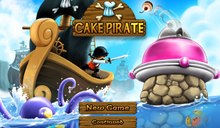 jeu Cake Pirate