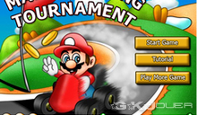 jeu Mario racing tournament