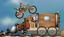 jeu Steam punk rally